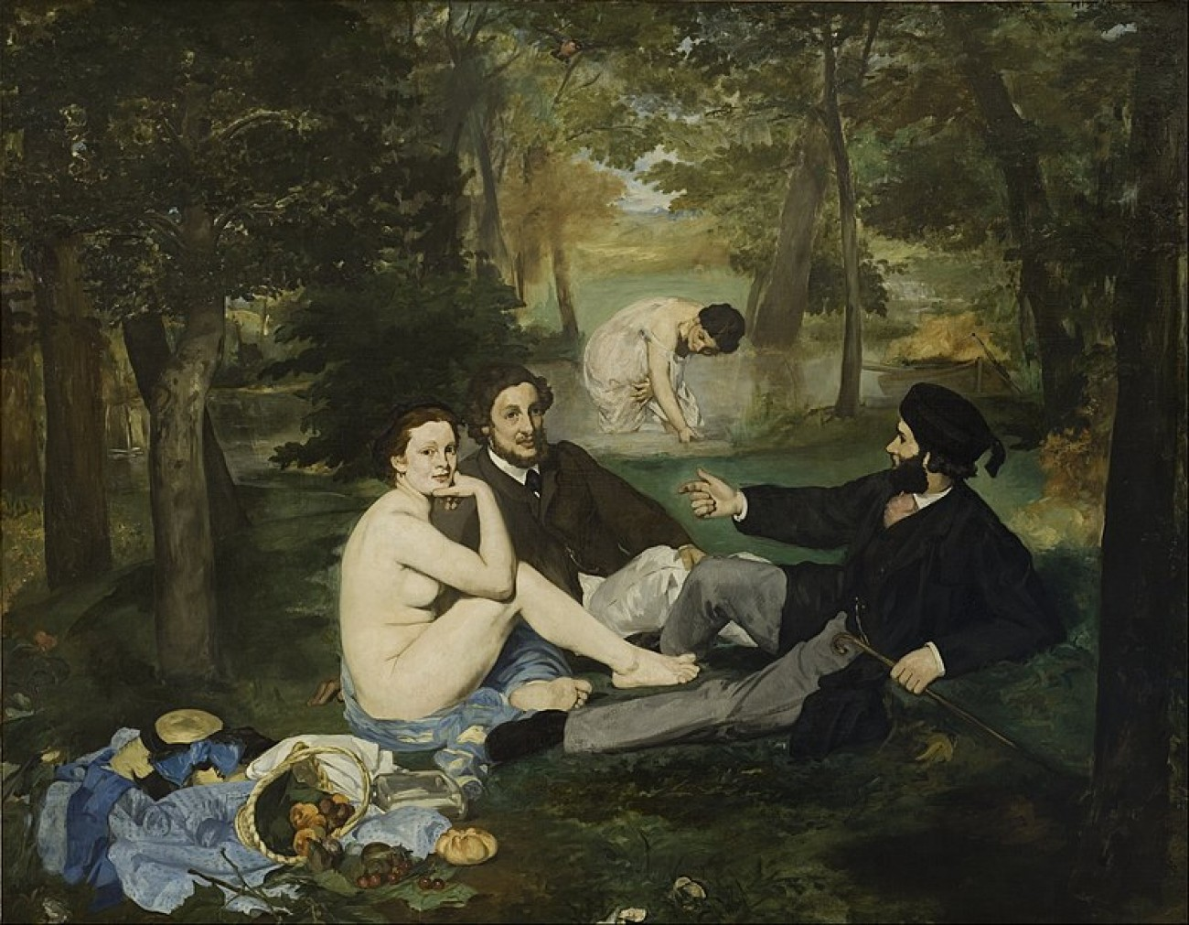 800px-Edouard Manet - Luncheon on the Grass - Google Art Project